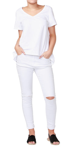 Betty Basic Hannah Tee White