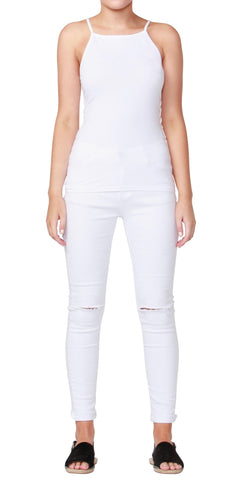 Betty Basics Julia Cami White BB227S16