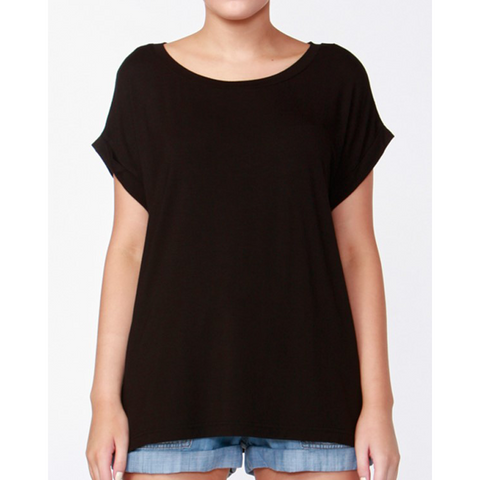 Betty Basics Santiago Tee Black