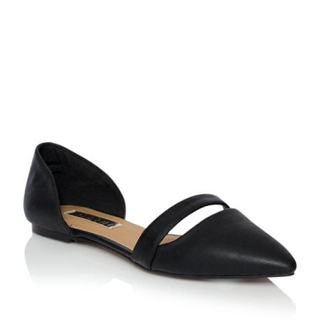 Billini Cairo Black Flat Slip-On