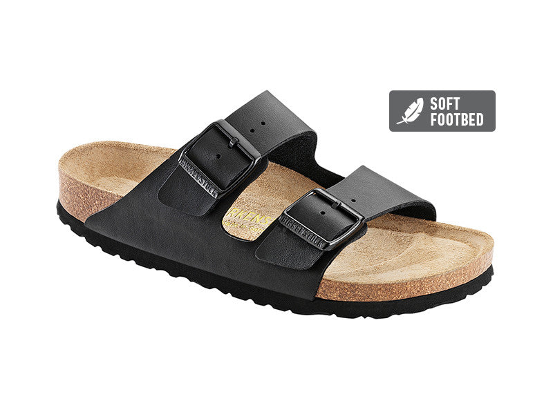 Birkenstock Arizona Black Regular Birko-Flor Soft Footbed  0551251
