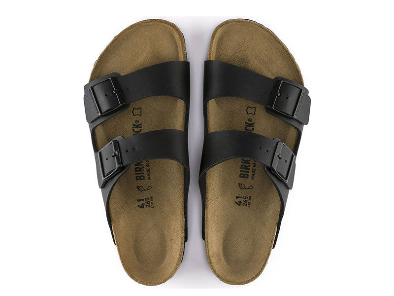 Birkenstock Arizona Black Narrow Fit Birko-Flor Classic Footbed 0051793