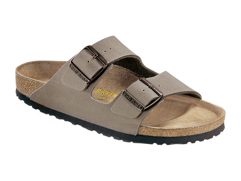 Birkenstock Arizona Stone Regular Fit Birko-Flor Nubuck Classic Footbed 0151211