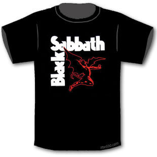 Black Sabbath - Creature T-Shirt   Famous Rock Shop. 517 Hunter Street Newcastle, 2300 NSW Australia