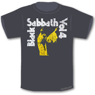 lack Sabbath - VOL. 4 T-Shirt Famous Rock Shop. 517 Hunter Street Newcastle, 2300 NSW Australia