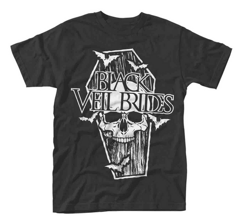Black Veil Brides Coffin Black T-Shirt