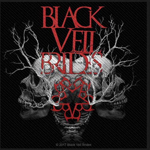Black Veil Brides Skull Branches Standard Patch Famous Rock Shop Newcastle NSW Australia