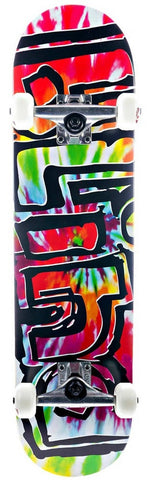 "Blind Skateboards Heady Tie Dye 7.7"" Complete Skateboard 10511209B"