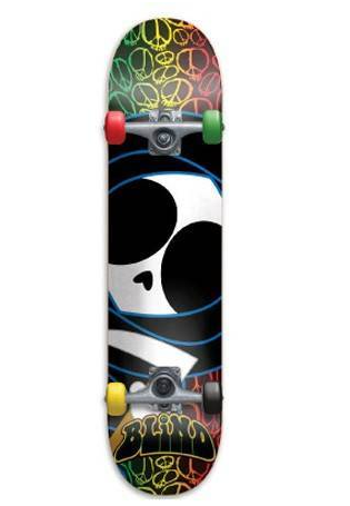 "Blind Skateboards Peace Kenny Multi Soft Top 6.5"" Wide"