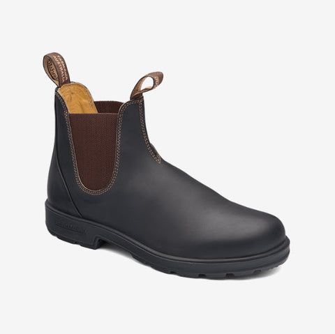 Blundstone 600 PU TPU- Elastic Sided V-Cut Series Brown Unisex Boot Famous Rock Shop Newcastle, 2300 NSW. Australia. 1