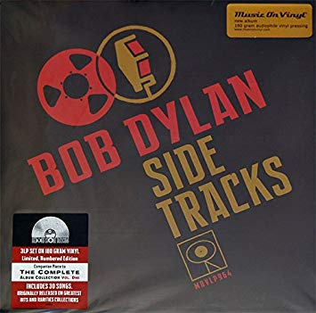 Bob Dylan Side Tracks 3LP Set on 180 gram vinyl Limited Numbered Edition  Famous Rock Shop Newcastle 2300 NSW Australia