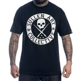 Sullen 'Badge Of Honor Solid' Men's T-Shirt - Black
