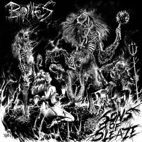 Bones ‎– Sons Of Sleaze Vinyl
