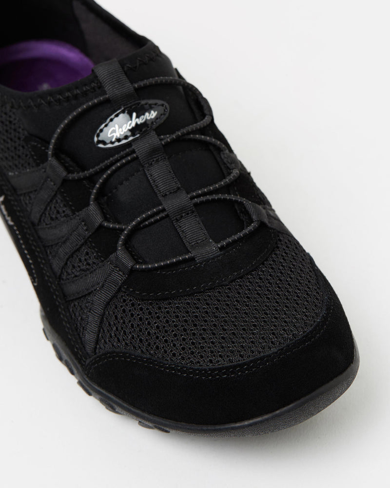 Skechers USA Women's Sizing. Memory Foam, Relaxed Fit The Skechers Breathe Easy - Relaxation slip-on walking shoes have a breathable, mesh upper with suede overlays for support. The sneakers feature a memory-foam insole and a shock absorbing midsole for comfort. - Breathable, mesh upper- Suede overlays for support- Ela Famous Rock Shop Newcastle NSW Australia