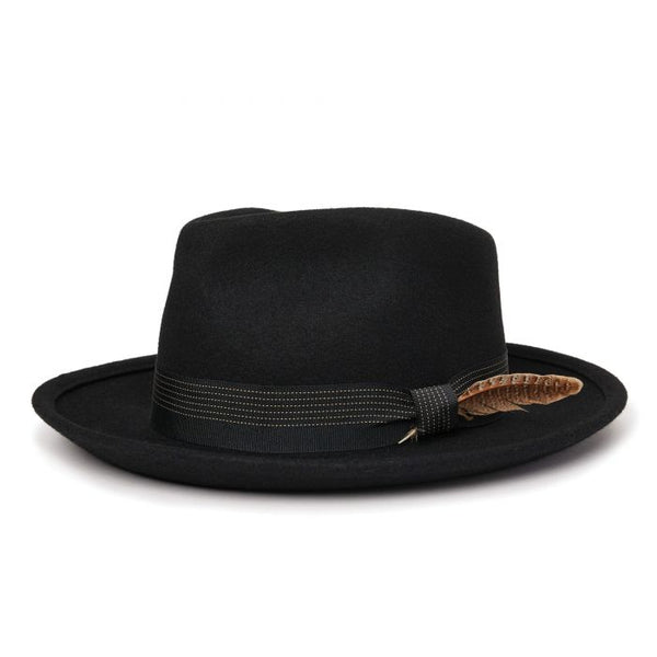 Brixton Swindle III Fedora 10430 Black Hat