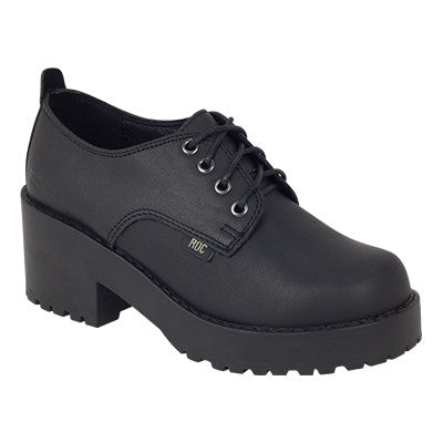 Roc Chickadee Black Leather Shoes