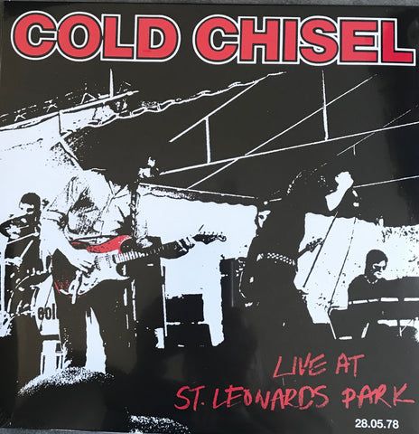 COLD CHISEL Live At Leonard Park 28.05.1978 Vinyl Indie Exclusive CCSLP00 Famous Rock Shop Newcastle 2300 NSW Australia