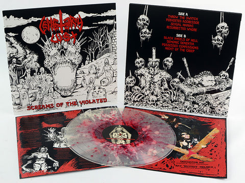 Cemetery Lust ‎– Screams Of The Violated Vinyl