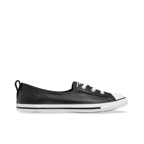Converse Leather Slip On Shoes