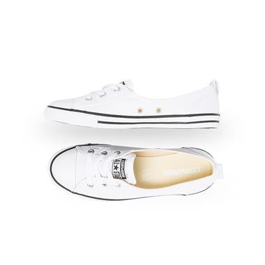 Converse Chuck Taylor All Star Ballet Lace Slip-On Flats Canvas White Famous Rock Shop Newcastle 2300 NSW Australia1