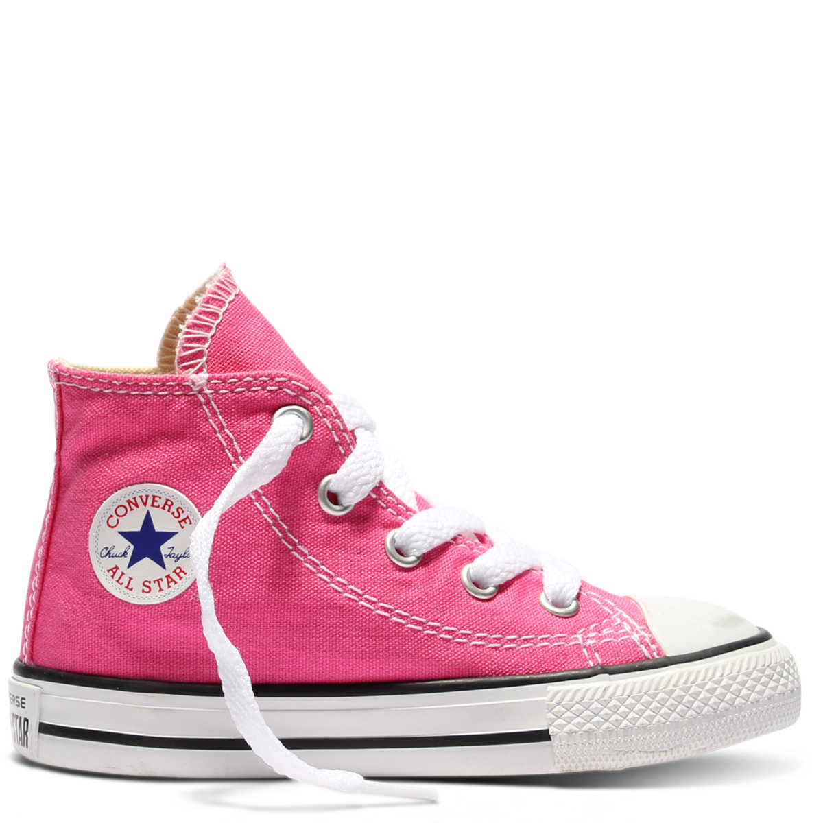 d0241603aea7 Converse Chuck Taylor All Star Fresh Colour Toddler High Top Mod Pink  Famous Rock Shop.