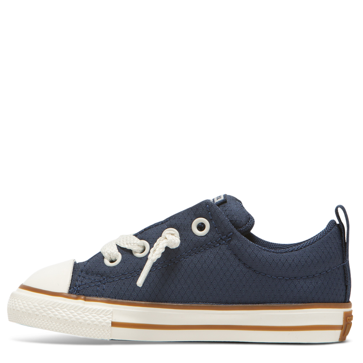5bbe8b290ae3 Converse Chuck Taylor All Star Street Pinstripe Toddler Low Top Navy 763525C