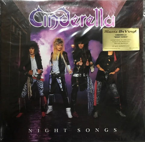 Cinderella ‎– Night Songs Limited Edition Vinyl