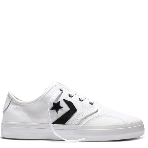 Converse CONS Zakim Youth Canvas OX White 354388