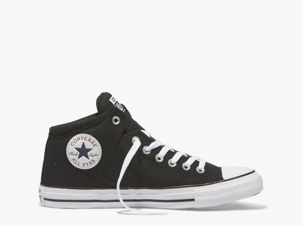 Converse CTAS High Street Mid Top Black 151041C Famous Rock Shop Newcastle, 2300 NSW. Australia. 1