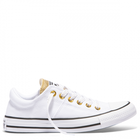 Converse CTAS Madison Metallic Ox White Gold White 562495C Famous Rock Shop Newcastle, 2300 NSW. Australia. 1