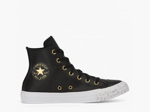 Converse CTAS Speckled HI Black Gold White 566724C Famous Rock Shop Newcastle, 2300 NSW. Australia. 1