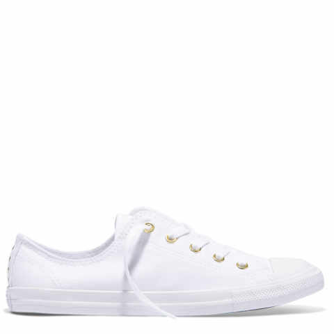 Converse CT AS Dainty Canvas Stud White Gold 561644C Famous Rock Shop Newcastle, 2300 NSW. Australia. 1