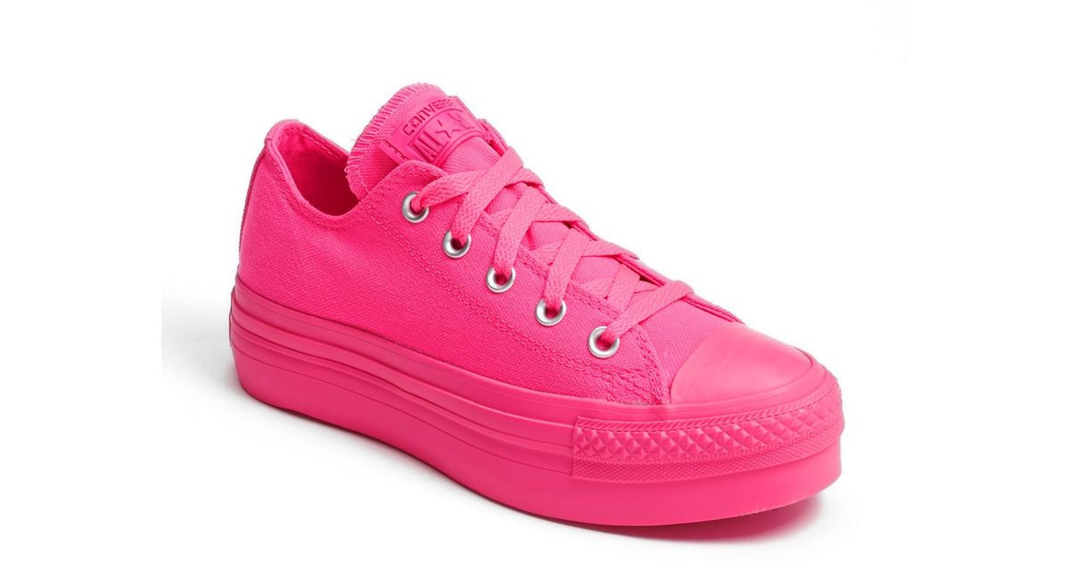 complimentary shipping arrives new selection Converse CT Platform OX Knockout Pink 540260C