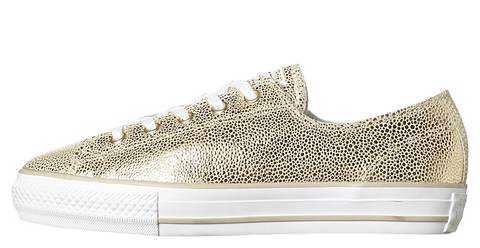 efbb8ef193f9 Converse CT AS High Line Metallic Leather Light Gold 553333C 1