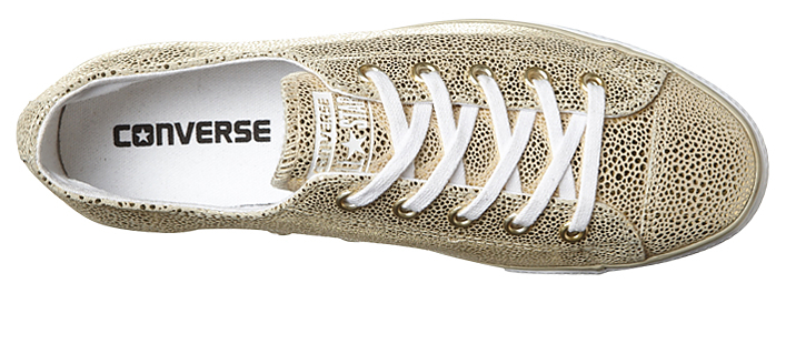 Converse CT AS High Line Metallic Leather Light Gold 553333C