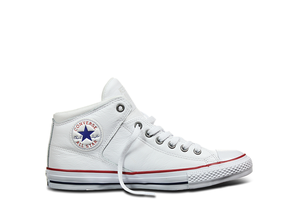 Converse CT AS High Street Car Leather Hi WhiteGarnetWhite 151053C 1
