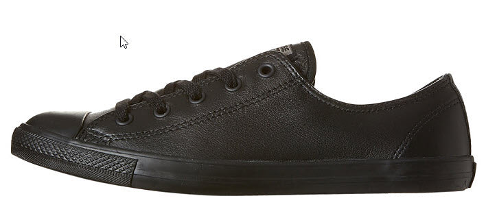 e2660b56eb1b76 Converse Dainty Leather Lo Shoe Chuck Taylor All Star Lo Dainty A newly  slimmed down appearance ...