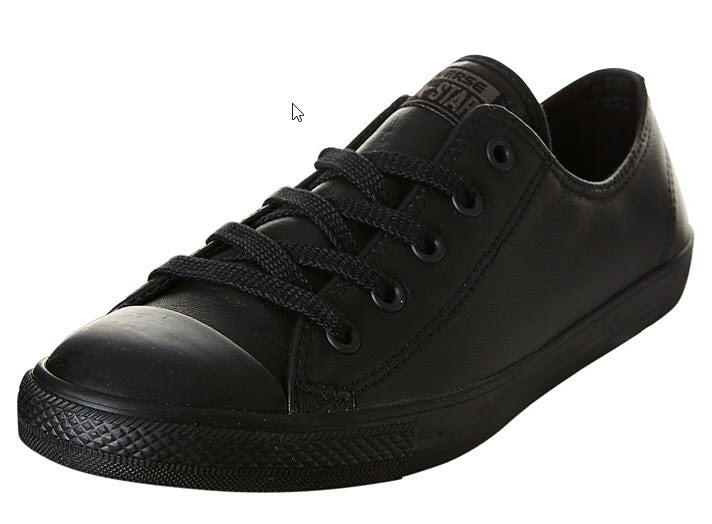 Converse Dainty Leather Lo Shoe Chuck Taylor All Star Lo Dainty A newly slimmed down appearance shows off the classic Chuck Taylor sneaker Famous Rock Shop Newcastle 2300 NSW Australia