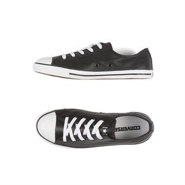 converse dainty leather ox