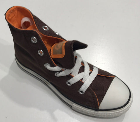 Converse Youth CT Double Tongue HI Brown Orange 300647