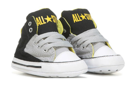 Converse First Star Crib Black Ash Grey