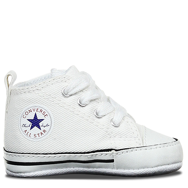 Converse First Star Crib White