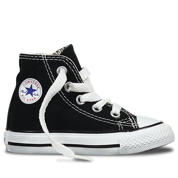 Converse Hi CT AS Black White Infant 7J231C All Star Chuck Taylor