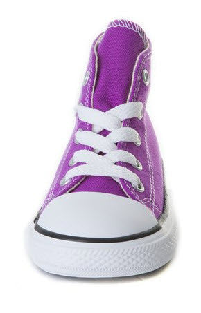 Converse Infants Hi Chuck Taylor All Star Purple Cactus – Famous ... 9734f147f