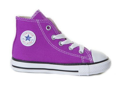 Converse Infants Hi Chuck Taylor All Star Purple Cactus