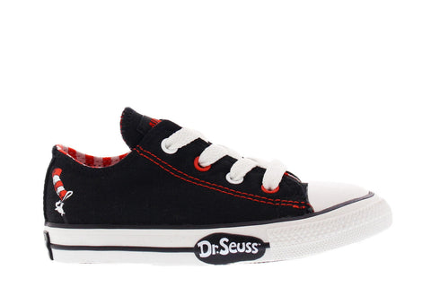 Converse Infant CT Seuss OX Black 717704