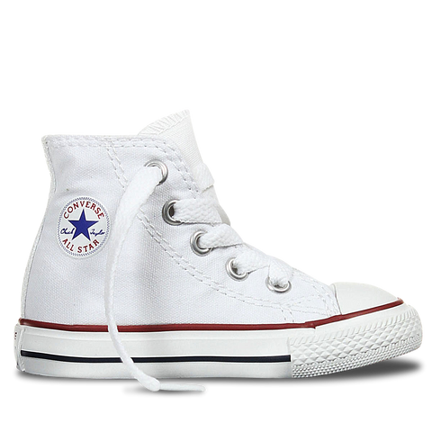 a24e9b39ccca Converse Infants All Star Hi 7J253C Optical White