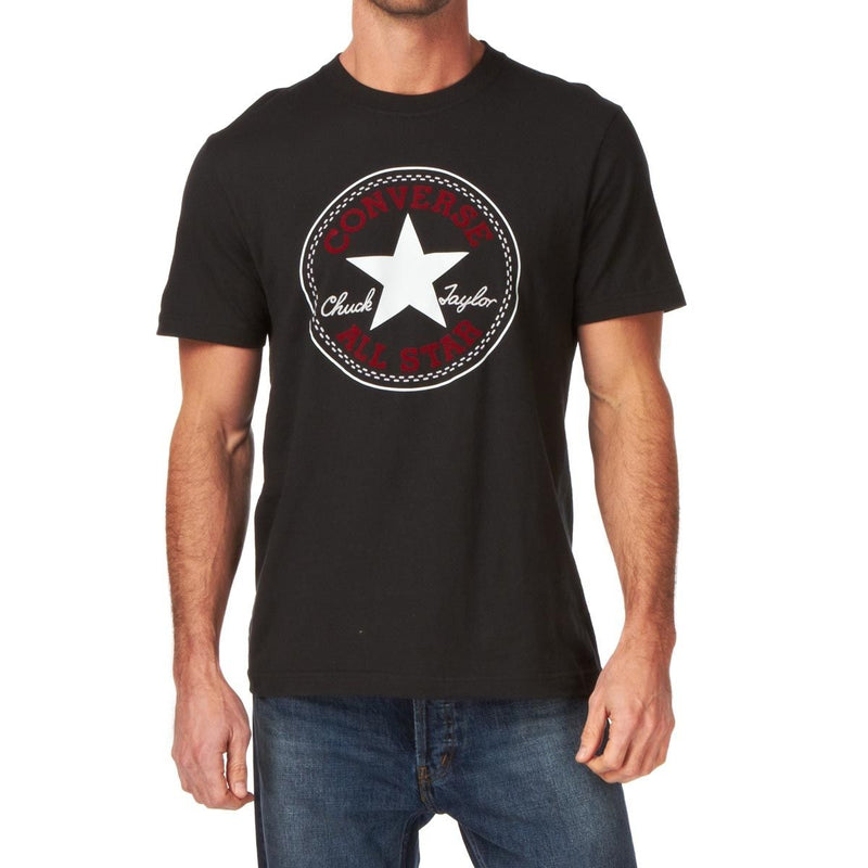 Converse Men's Chuck Patch Black T-Shirt M10357 Famous Rock Shop Newcastle 2300 NSW Australia