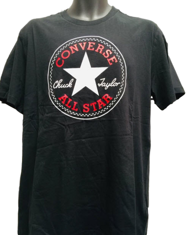 Converse Men's Chuck Taylor Patch T Shirt Black