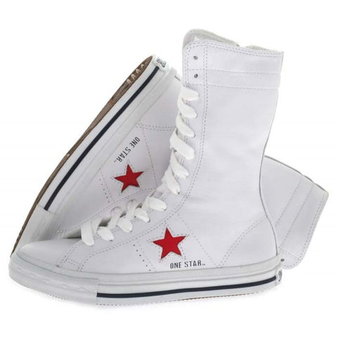 Converse OS XHI White Red 105843